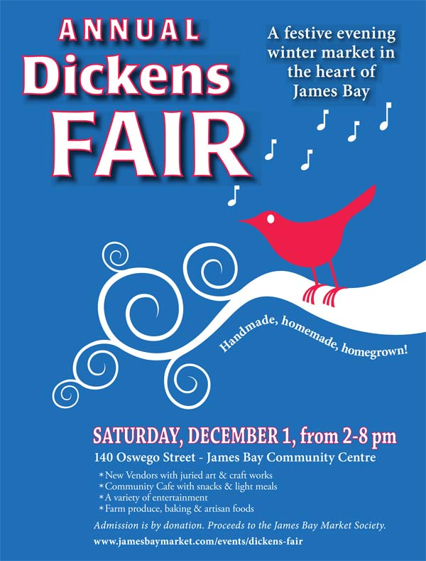 Annual Dickens Christmas Fair - A Festive Winter Market in the Heart of James Bay