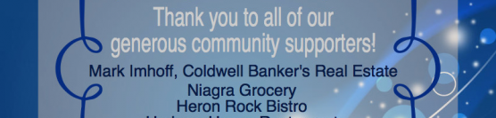 We'd like to thank you!