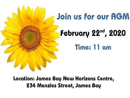 James Bay Market Society 2020 AGM meeting