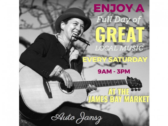 The James Bay Community Market – the place to be this Saturday for music, food and fun