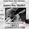 Great Live Music – May 5th @James Bay Community Market