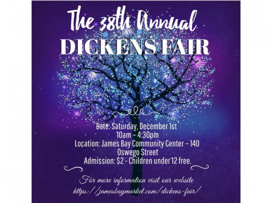 Come one, come all to the Dickens Fair