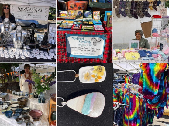 The James Bay Community Market – A few of our craft vendors – August 15th – 9 am to 3 pm