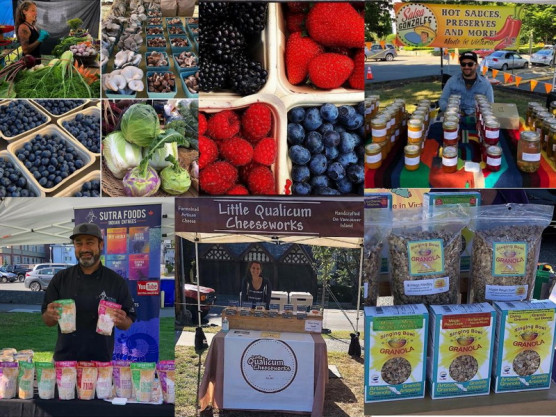 The James Bay Community Market – A few of our vendors – August 8th – 9 am to 3 pm