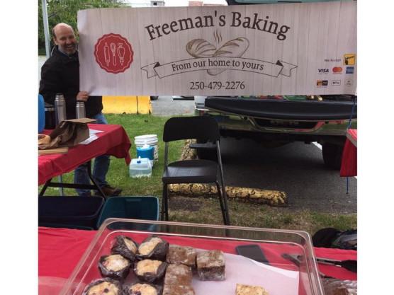 Freeman's Baking at the James Bay Community Market