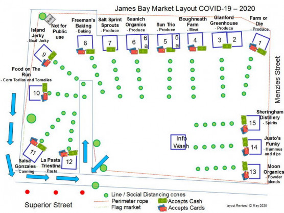James Bay Community Market – May 16th, 9 am to 1 pm