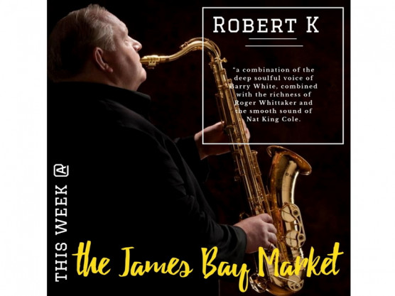 Great way to start the Labour Day weekend – the James Bay Community Market