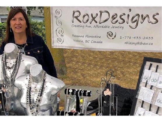 James Bay Community Market Vendor Profiles – This week – RoxDesigns