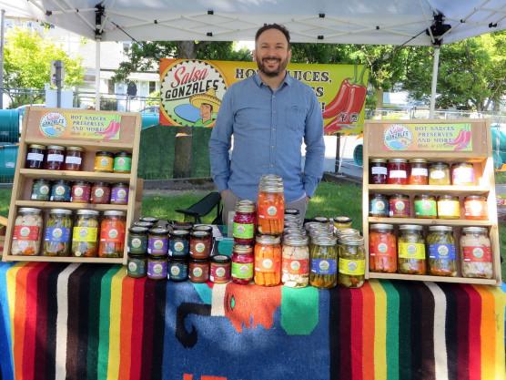 James Bay Community Market Vendor Profiles – This week – Salsa Gonzales