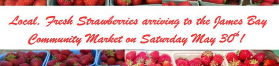 Local Strawberries this Saturday, May 30th