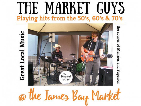 Crafts, Produce, Food & Music at the James Bay Community Market – Saturday August 31st