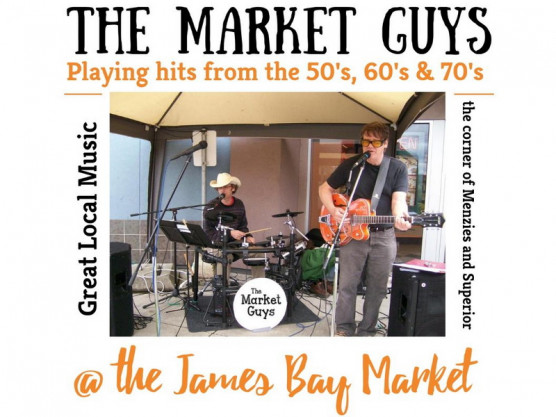 Come on down to the James Bay Community Market this Saturday for fun, music, crafts, produce and food!