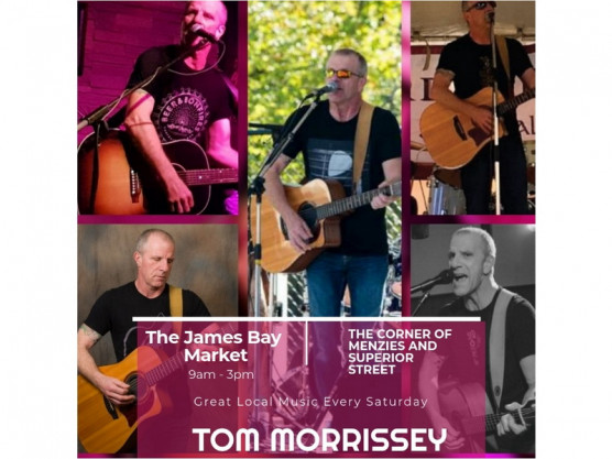 James Bay Community Market – Live music for July 24th