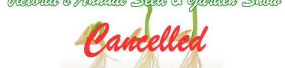 Victoria Seedy Saturday 2021 Cancelled