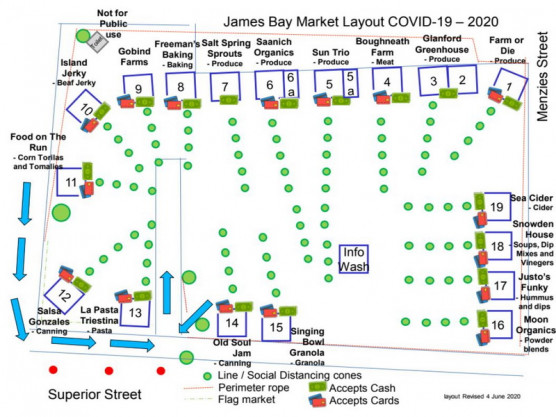 James Bay Community Market – June 6th – 9 am to 1 pm