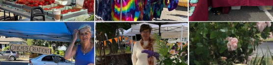 The James Bay Community Market – A few of our vendors – August 1st – 9 am to 3 pm