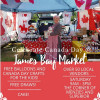 Canada Day Celebration at the James Bay Community Market