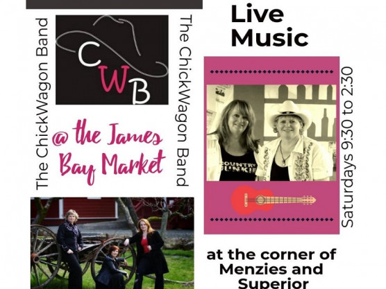 Come one, come all, to the James Bay Community Market this Saturday!